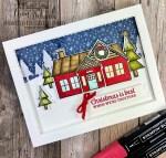 Coming Home Christmas Card