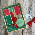 classic red and green Christmas card