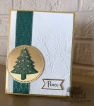 perfectly plaid Christmas card