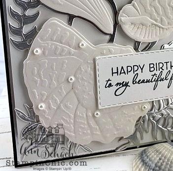 seashell birthday card