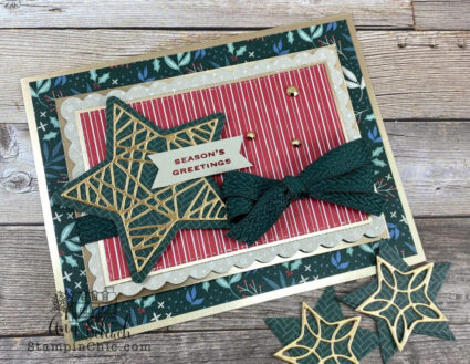 Stars and Stripes Card - Christmas Style