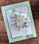 whimsical and feminine holiday card