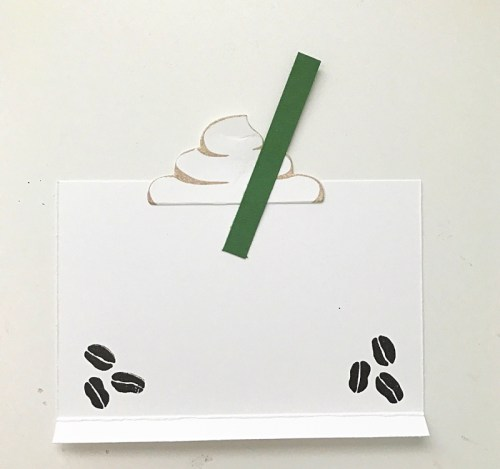 DIY Make It: Coffee Break Gift Card Holder from StampinFool.com