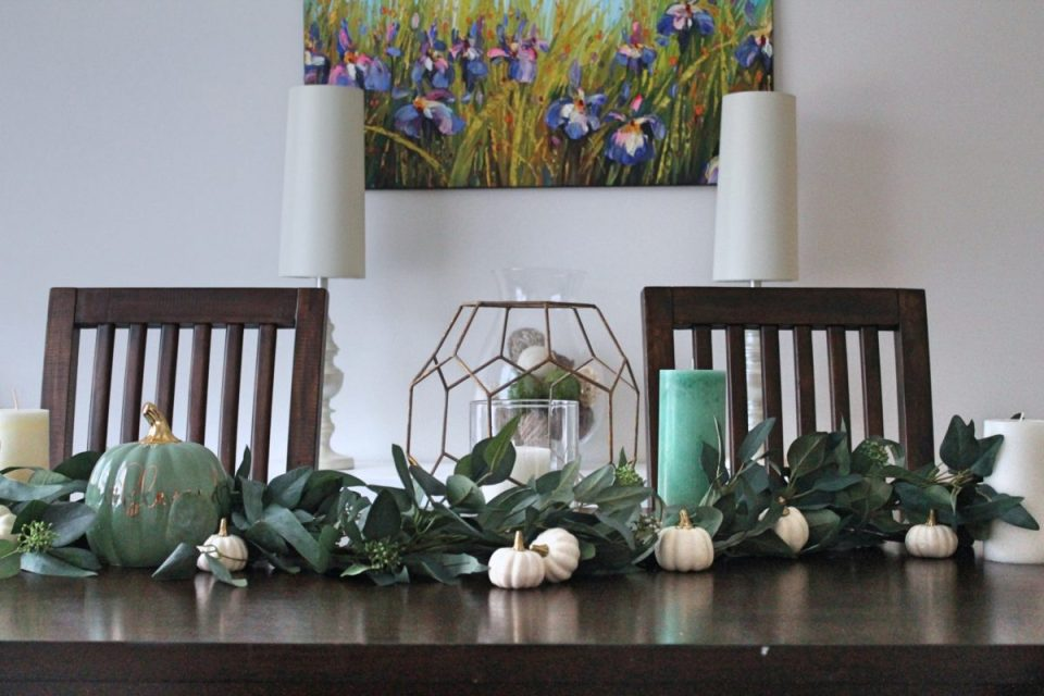 How To: Fall Tablescape in 5 Minutes from StampinFool.com