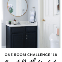 5 Steps To A Quick Powder Room Update You Can Do In A Weekend