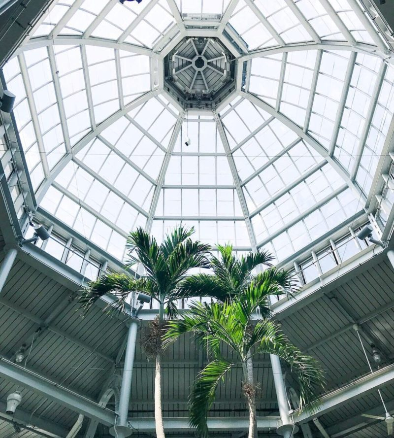 Conservatory at Lewis Ginter Botanical Garden