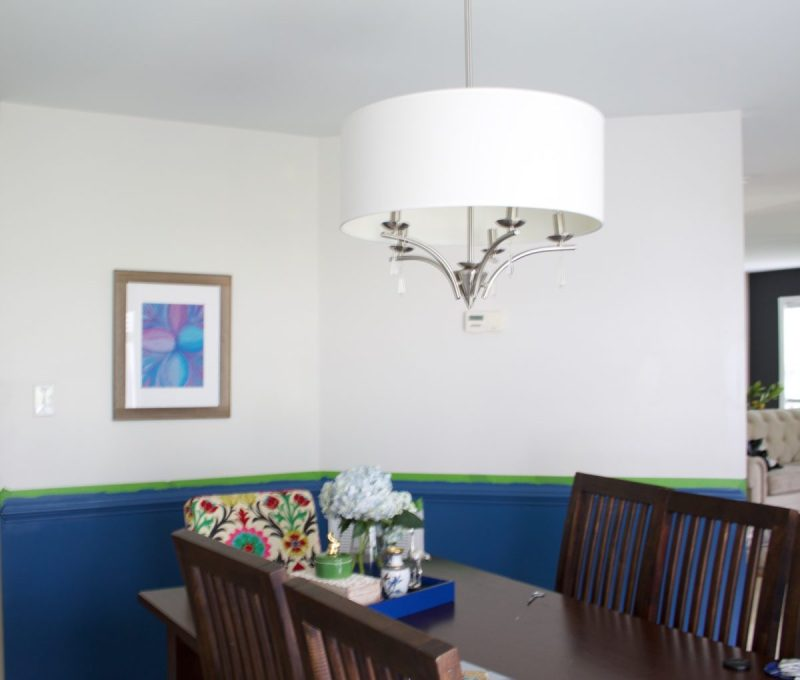 Dining Room Decor from the One Room Challenge