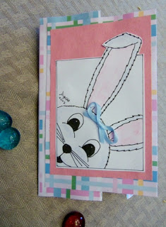 Freebie:igital Bunny Rabbit Stamp