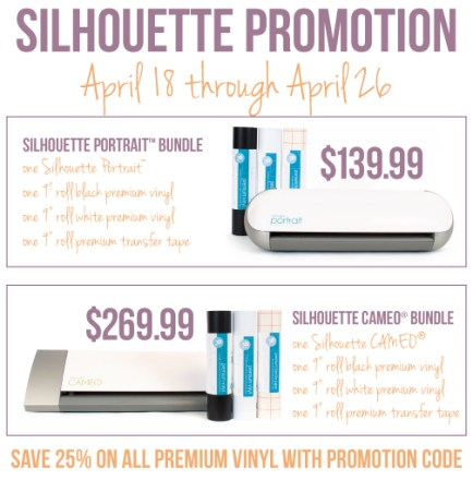 Review and Discount: Silhouette Vinyl