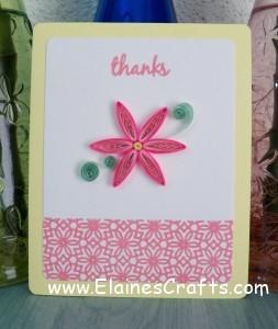 Tutorial: Paper Quilled Flower