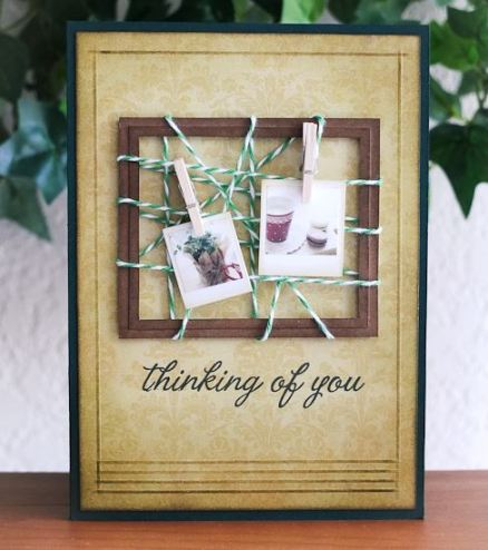 Project: Twine Wrapped Frame Card