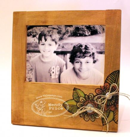 Technique: Wood Burning with Stamps