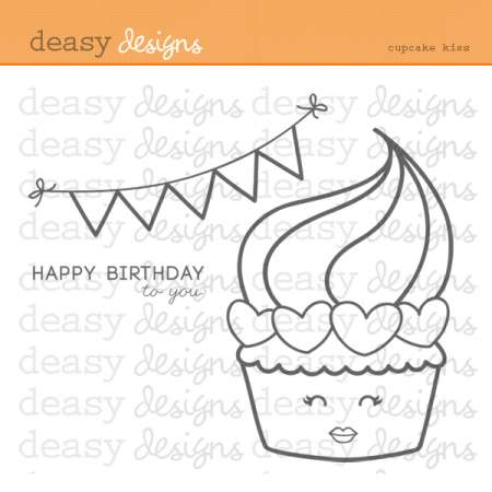Freebie: Cupcake Digital Stamp