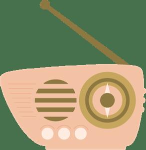 Freebie: Retro Radio SVG