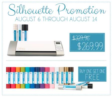 Silhouette Vinyl Coupon Stamping