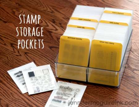 Tips: Storing Clear Stamps