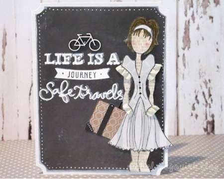 Project: Life is a Journey Card