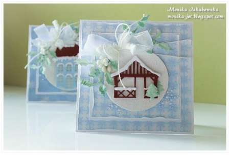 Inspiration: Snow Covered Cards