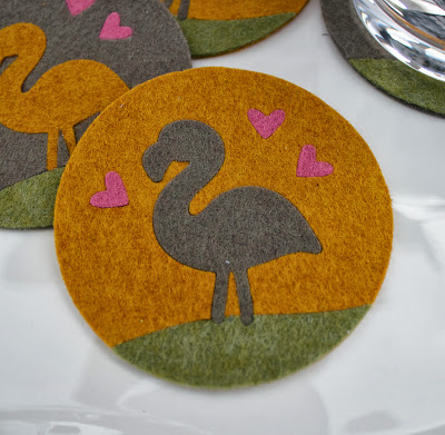 Project: Die Cut Felt Coasters