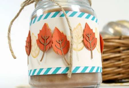 Tips: Stamped and Die Cut Fall Border