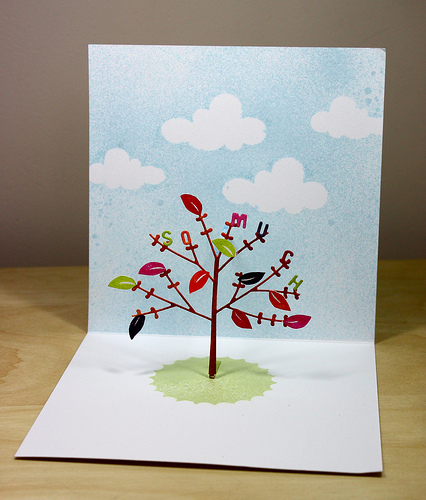 Project: Fall Tree Pop Up Card