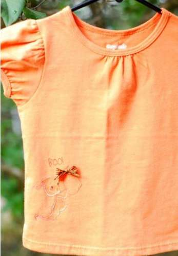 Project: Stamped Halloween Shirt