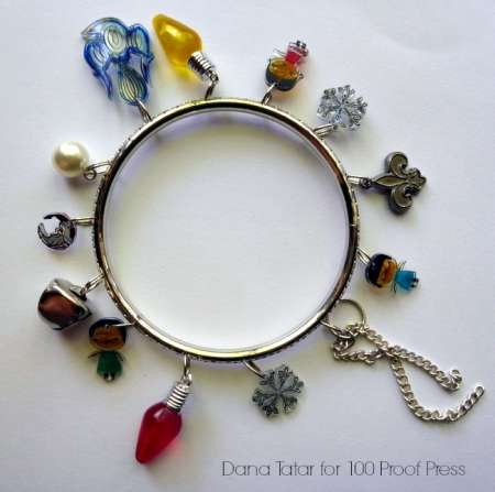 Gift Ideas: Stamped Charm Bracelet