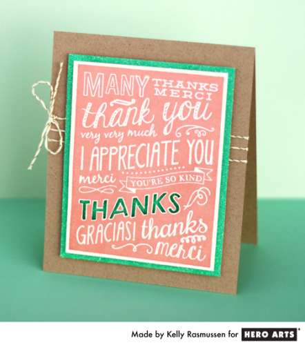 Project: Thank You Card