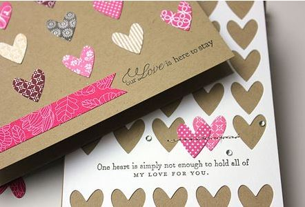 Project Ideas: Valentine Hearts Cards