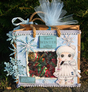 Inspiration: Stamped Gift Bag
