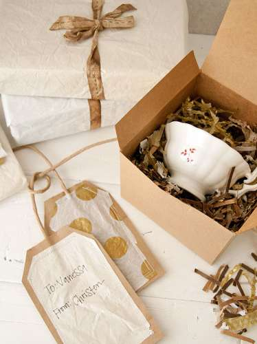 Tip: Upcycle Gift Wrap