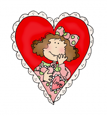 Freebie: Digital Valentine Stamp