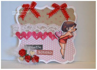 Tip: Die Cut Heart Border