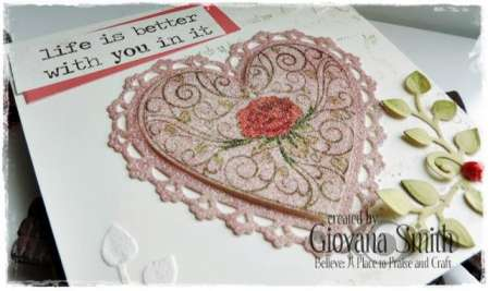 project: stamped valentine