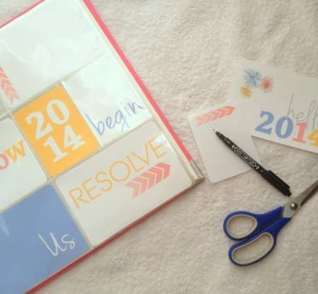 Freebie: New Year Printables