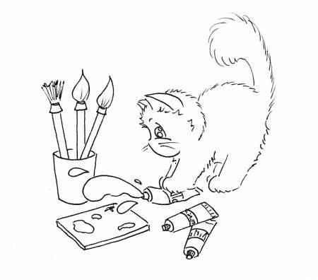 Freebie: Crafty Kitties Digital Stamps