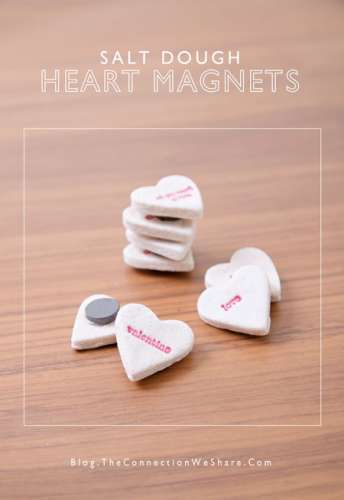 Project Stamped Valentine S Day Magnets Stamping