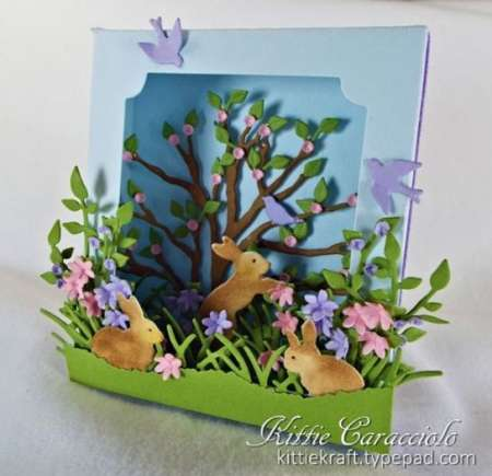 Inspiration: 3D Rabbit Card