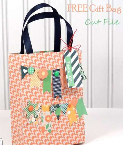 Freebie: Gift Bag Template