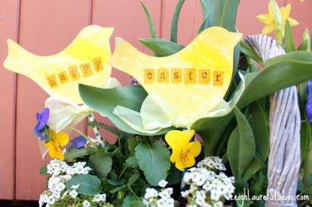 Project: Easter Plant Stakes