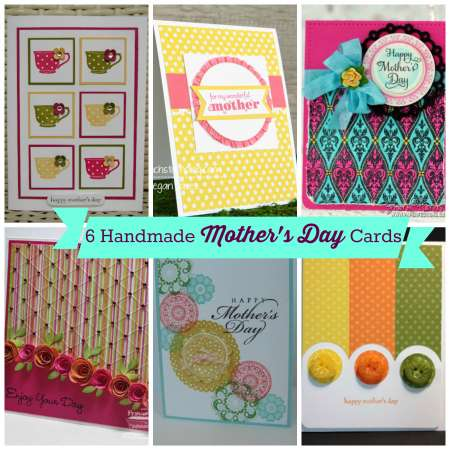 6 handmade mothers day cards