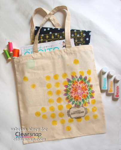 Project: Stamped Tote Bag
