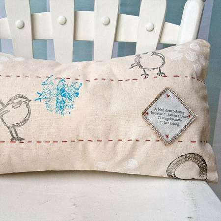 Project: Stamped Pillow