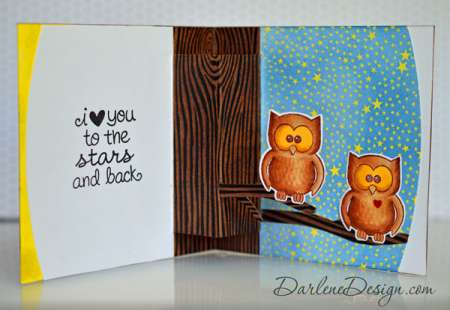 Project: Pop Up Owl Card