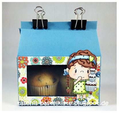 Project and Freebie: DIY Cupcake Box