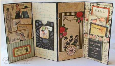 Project: Accordian Fold Card with Box
