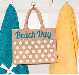 project: beach bag