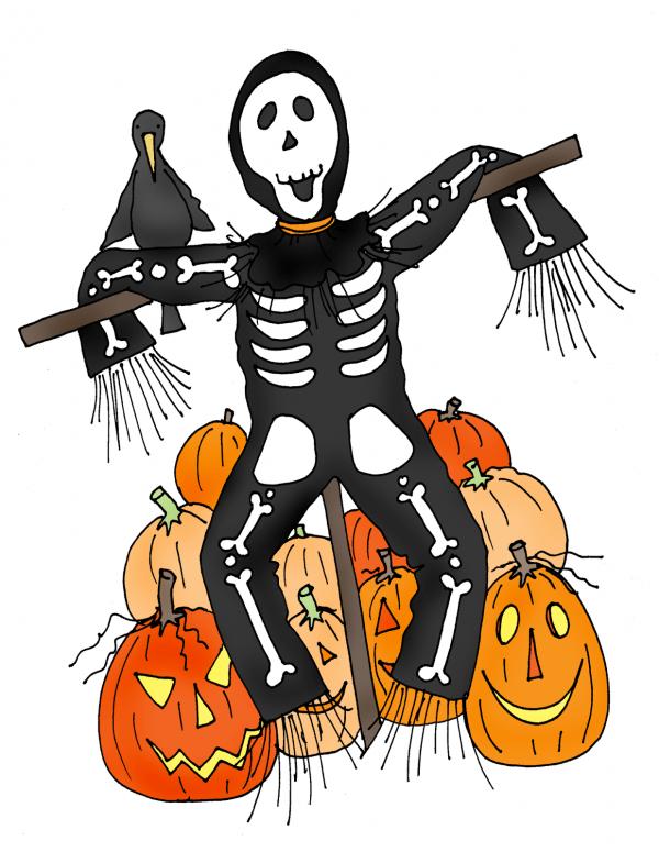 Freebie: Scarecrow Digital Stamp