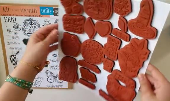 Tip: Storing Unmounted Rubber Stamps