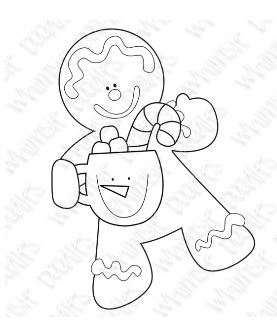 Freebie: Gingerbread Digital Stamp